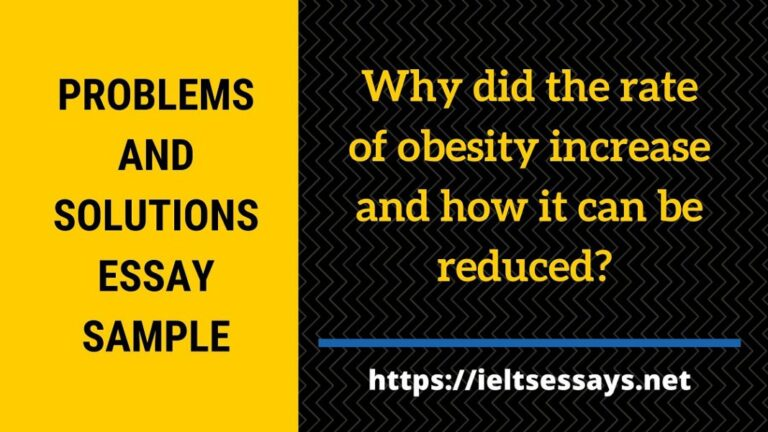 Why did the rate of obesity increase and how can it be reduced?